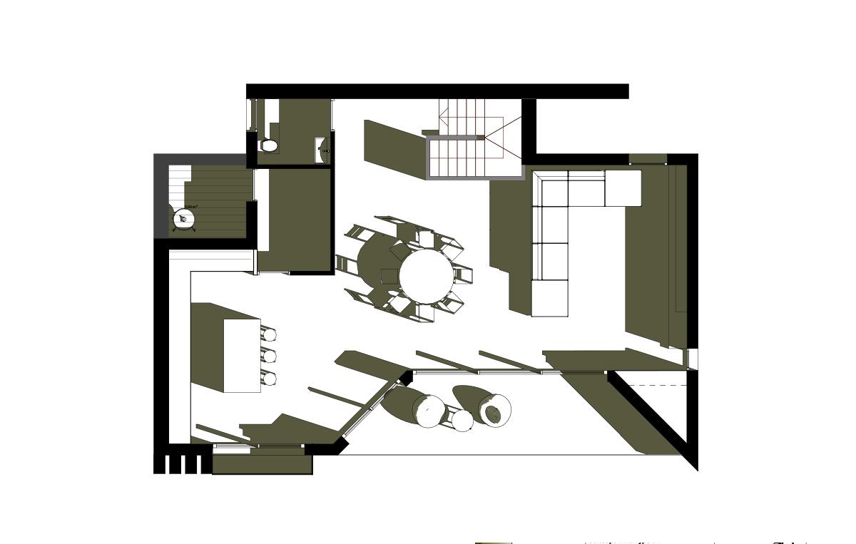 Villa Olivier - plan etage