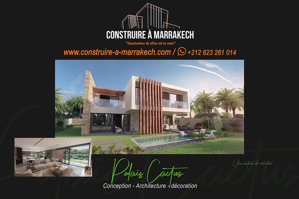 construire à marrakech villa sur mesure clé en main golf amelkis constructeur maitre d'œuvre